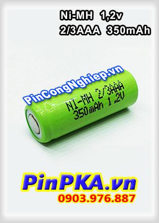 Pin Sạc Công Nghiệp-Pin Cell 1,2v Ni-MH 2/3AAA 350mAh